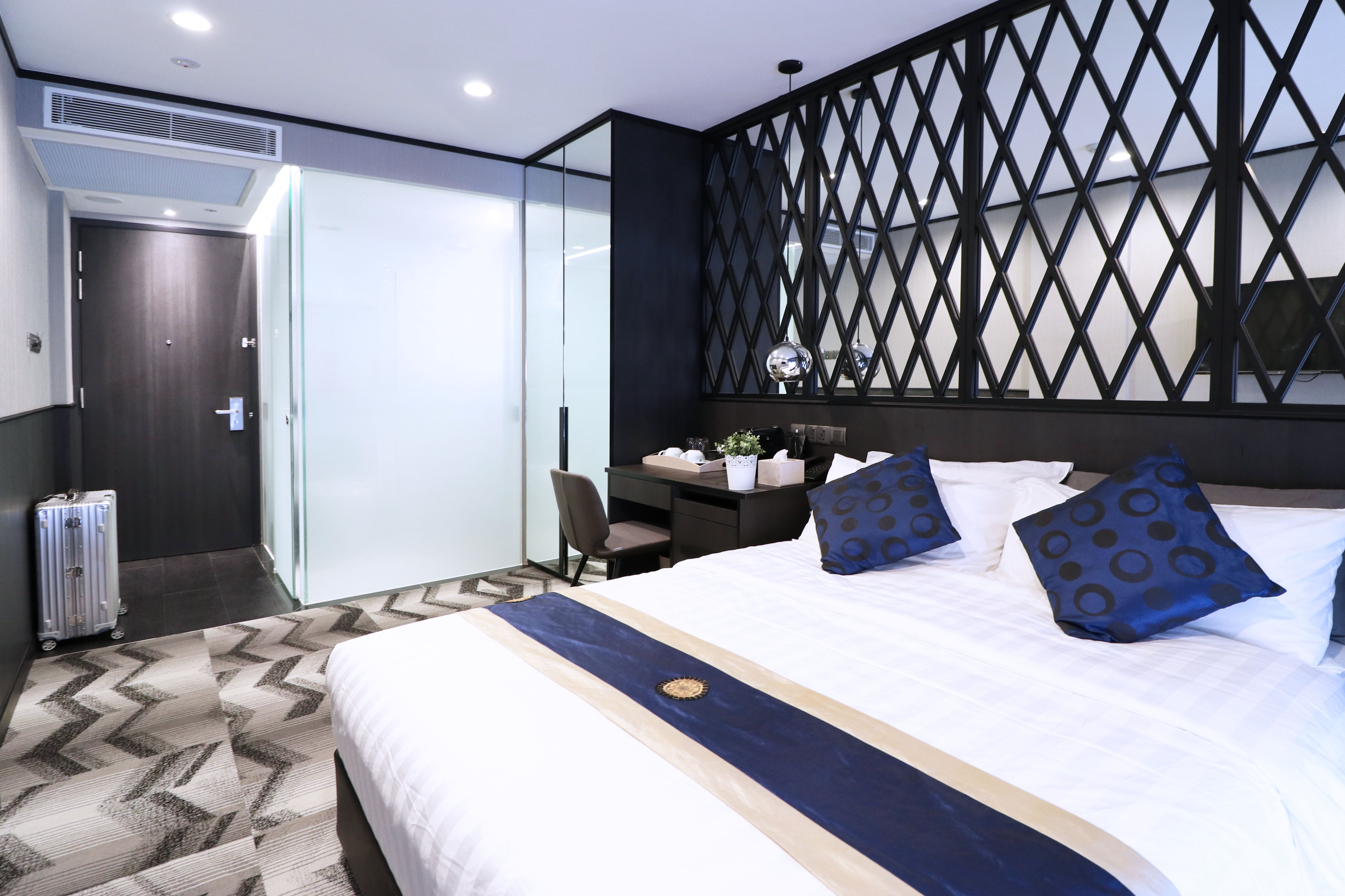 Boutique Hotel Deluxe Double Window Interior Singapore